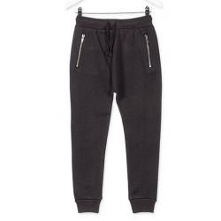 LOSAN Μαύρο παντελόνι με...