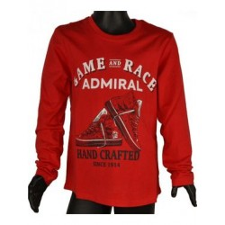 ADMIRAL T-SHIRT 1121430033 RED