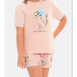 Little Frog Πυτζάμες 15007 Ροζ