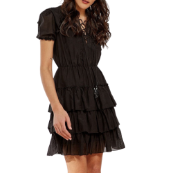 Bsb Φόρεμα 045-211013 Μαύρο