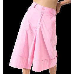 Lumina Ζιπ Κιλότ L3374 Ροζ